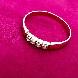 Gold 585 ring